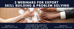 Export Skill Building and Problem Solving Webinar Series